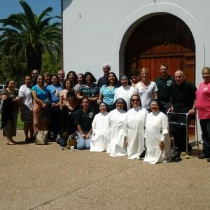 Celebrando la fiesta de Santo Domingo (3)